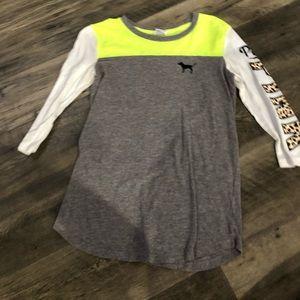 Victoria secret PINK 3/4 sleeve top